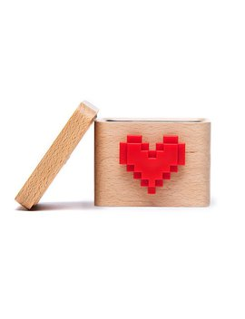 Lovebox Spinning Heart Messenger by Marie Poulle And Jean Gregoire