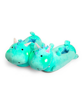 Dragon Light Up Slippers by Think Geek