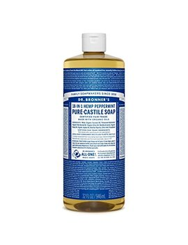 dr-bronners-magic-soaps-pure-castile-soap,-18-in-1-hemp-peppermint,-32-ounce-bottle by amazon