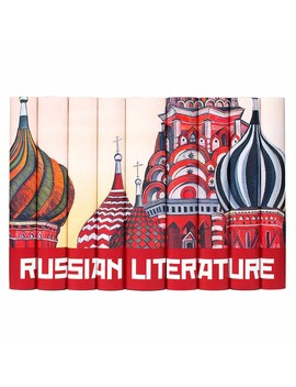 Russian Literature Book Set by Juniper Books