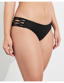 Strappy Cheeky Bikini Bottom by Hollister