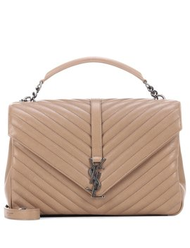 Classic Medium Collège Bag   Beige by Saint Laurent