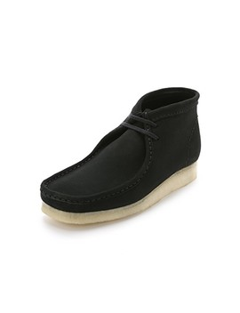 Suede Wallabee Boots by Clarks