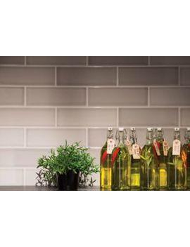Wickes Soho Light Grey Ceramic Tile 300 X 100mm by Wickes