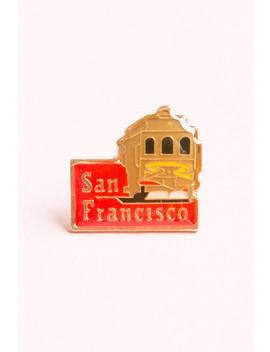 San Francisco Trolley Pin by Brandy Melville