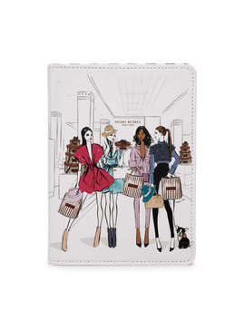Runaway Girls Small Refillable Notebook Runaway Girls Small Refillable Notebook by Henri Bendel