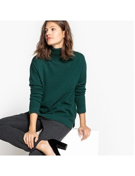 Rollkragenpullover, Kaschmir by La Redoute Collections