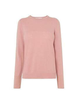 Adel Pink Studded Sweater by L.K.Bennett