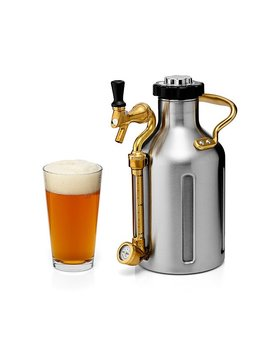 Pressurized Craft Beer Growler by Shawn Huff, Brian Sonnichsen And Evan Rege