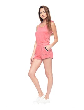 Microterry Flamingo Romper by Juicy Couture