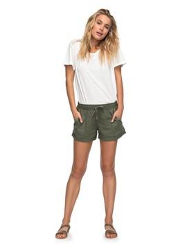 Symphony Lover Linen Shorts by Roxy