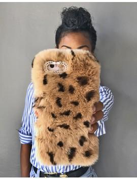 Minky Leopard Phone Case by Bdonnas