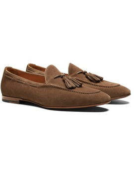 Light Brown Tassel Loafer by Suitsupply