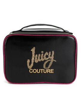 Travel Cosmetic Case With Brush Pockets by Juicy Couture
