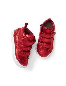 Shimmer Hi Top Sneakers by Gap