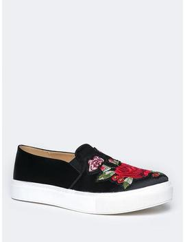 Joon Embroidered Sneaker Flat by Zooshoo