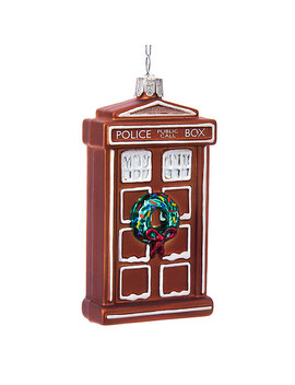 Doctor Who Gingerbread Tardis by Think Geek
