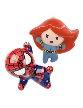 Hallmark Marvel Decoupage Ornaments by Think Geek