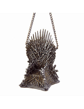 Game Of Thrones Iron Throne Ornament by Think Geek