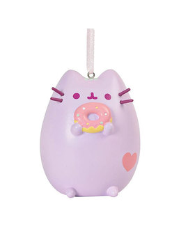 Pusheen Ornament Pink Pusheen With Donut by Think Geek