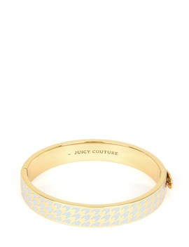 Outlet   Enamel Juicy Hinged Bangle Bracelet by Juicy Couture