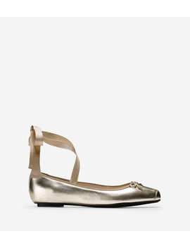 Downtown Ballet Flat by Cole Haan