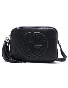 Soho Leather Disco Bag   Black by Gucci