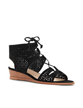 Retana Lace Up Wedge Sandals by Vince Camuto