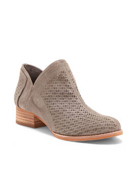 Clorieea Perforated Bootie by Vince Camuto