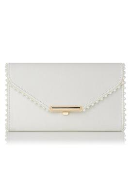 Sissi Ivory Clutch by L.K.Bennett