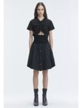 Washed Poplin Skirt by Alexander Wang