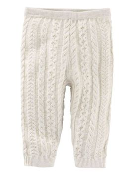 Pull On Cable Knit Pants by Oshkosh