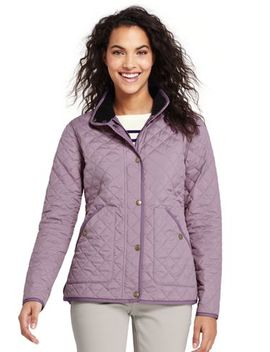 Women's Quilted Barn Insulated Jacket by Lands' End