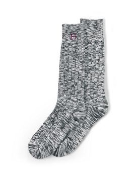 Women's Thermaskin Heat Marl Boot Socks by Lands' End