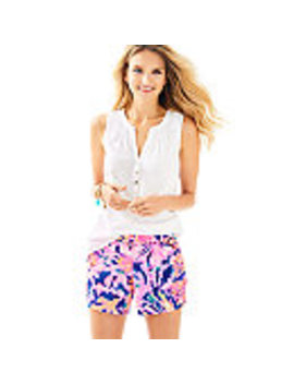 """5"""" Callahan Stretch Sateen Short by Lilly Pulitzer"""