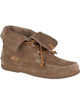 Women's Coil Hook Suede Bootie by Sperry