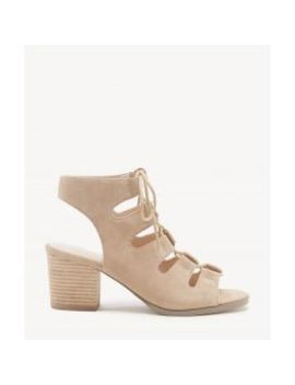 Rae   Cage Lace Up Sandal by Sole Society