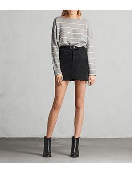 Bette Buckle Skirt by Allsaints