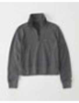Half Zip Fleece by Abercrombie & Fitch
