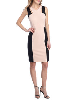 Ponte Colorblock Dress by Nine West