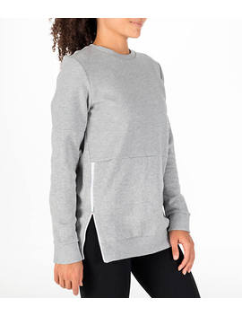 Women's Adidas Id Long Sleeve Cover Up Sweatshirt by Adidas