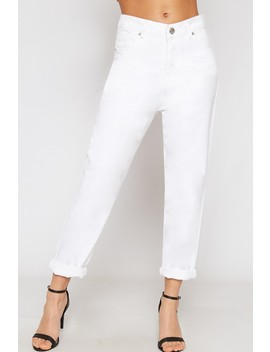 Maria High Waisted Denim Mom Jeans by Wear All