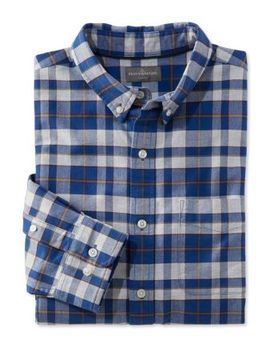 Signature Washed Oxford Cloth Shirt, Plaid by L.L.Bean
