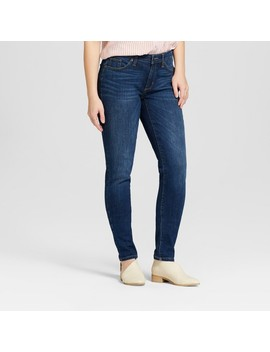 womens-mid-rise-curvy-skinny-jeans---universal-thread-dark-wash by universal-thread