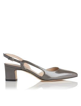 Aurora Grey Pearlized Patent Heel by L.K.Bennett
