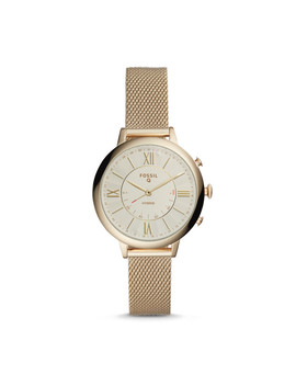 Hybrid Smartwatch   Q Jacqueline Gold Tone Stainless Steel by Fossil