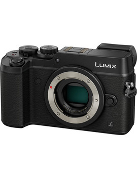 Lumix Dmc Gx8 Mirrorless Micro Four Thirds Digital Camera (Body Only, Black) by Panasonic