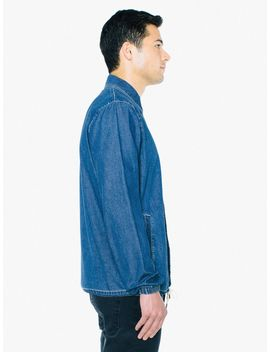 Denim Coach Jacket by American Apparel