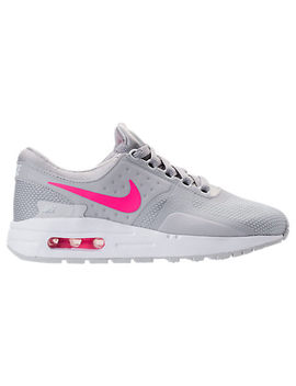Girls' Grade School Nike Air Max Zero Essential Casual Running Shoes by Nike