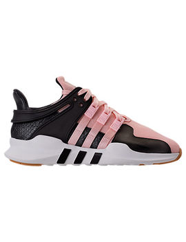 Girls' Grade School Adidas Eqt Support Adv Casual Shoes by Adidas